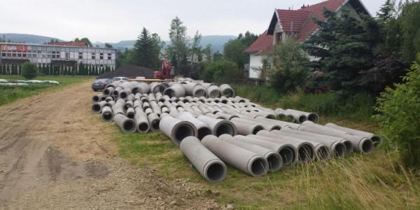 Rury betonowe - Stary Sącz - 1