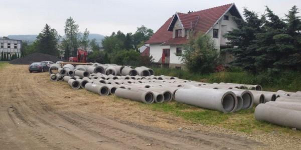 Rury betonowe - Stary Sącz - 2