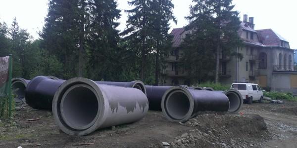 Rury betonowe - Zakopane - 1