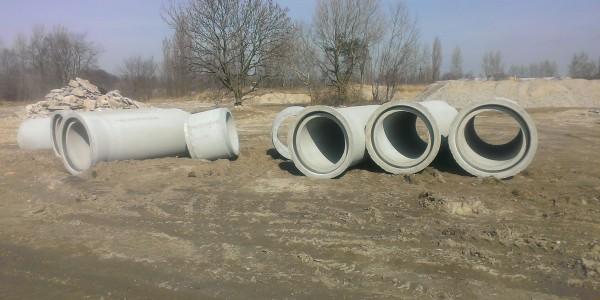 Rury betonowe - Suchy Las - 2