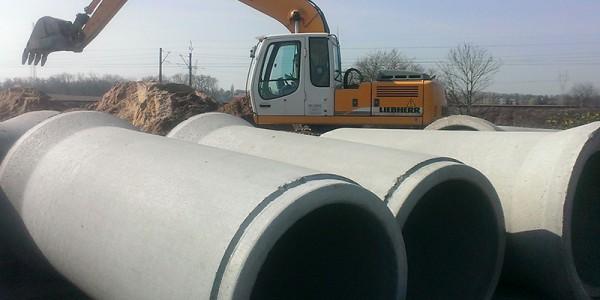 Rury betonowe - Suchy Las - 1