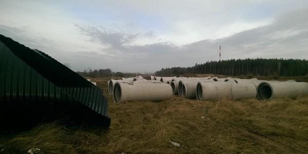 Rury betonowe - Droga S3 Legnica-Lubin - 1