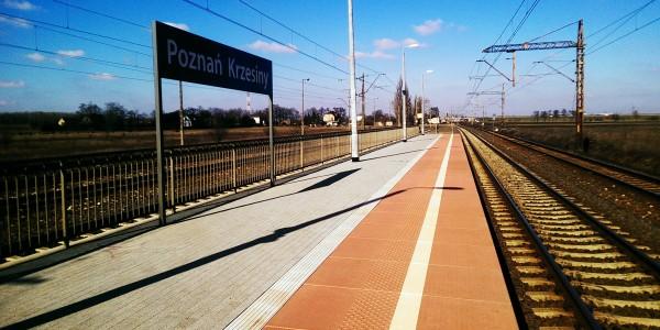 Płyty peronowe - Poznań Krzesiny - 3