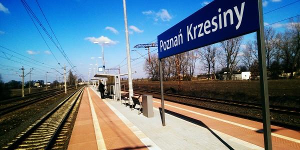 Płyty peronowe - Poznań Krzesiny - 2