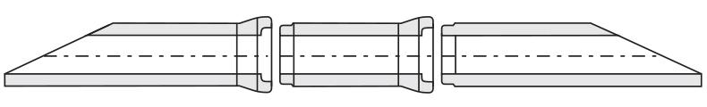 Rura skarpowa - schemat