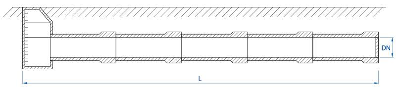 Zbiornik retencyjny - schemat 2