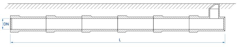 Zbiornik retencyjny - schemat 1