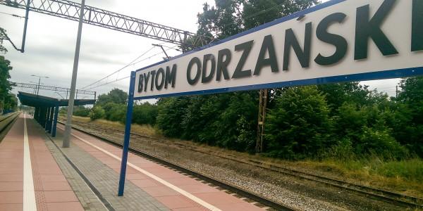 Płyty peronowe - Bytom Odrzański - 1
