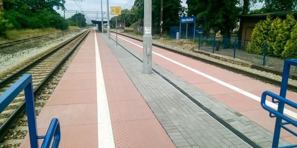 Płyty peronowe - Bytom Odrzański - 2